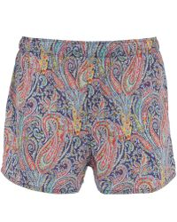 Liberty - Felix And Isabelle Cotton Boxer Shorts - Lyst