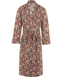 Liberty - Thorpe Long Tana Lawn Cotton Robe - Lyst