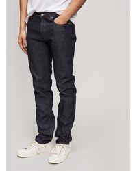 A.P.C. - Petite New Standard Raw Jeans - Lyst