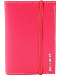 Undercover - Leather Passport Holder - Lyst