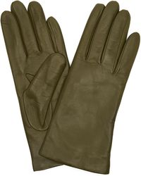 Portolano - Basic Nappa Leather Gloves - Lyst