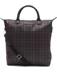 Want Les Essentiels De La Vie - Ohare Tartan Shopper Tote Bag - Lyst