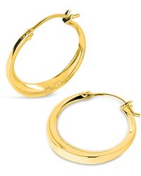 Dinny Hall - Gold-plated Signature Small Tapering Click Hoop Earrings - Lyst