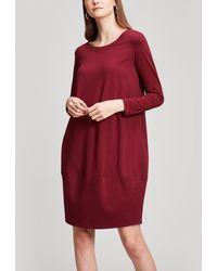 Crea Concept - Scoop Neck Long Dress - Lyst
