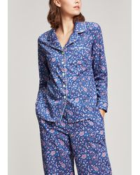 Liberty - Garden Gates Cotton Pyjama Set - Lyst