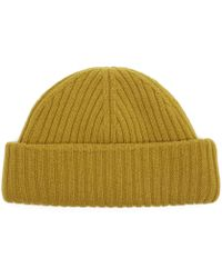 Oliver Spencer - Dock Ribbed Wool Beanie - Lyst