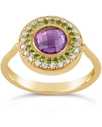Dinny Hall - Suffragette Gold Halo Pinky Ring - Lyst