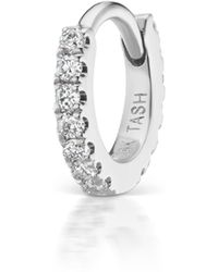 Maria Tash Diamond Eternity Ring
