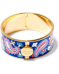 Liberty - Denby Paisley Thick Cuff - Lyst