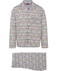 Liberty - Strawberry Thief Tana Lawn Cotton Long Pyjama Set - Lyst