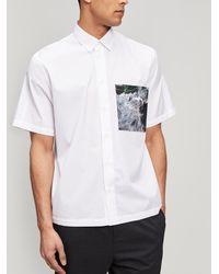 OAMC - Voodoo Pocket Shirt - Lyst