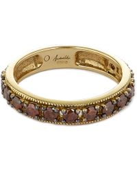 Annoushka - 18ct Yellow Gold Dusty Diamond Eternity Ring - Lyst
