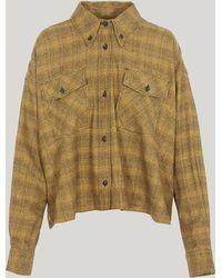 Étoile Isabel Marant - Delora Checked Cotton Shirt - Lyst
