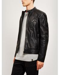 e9f2f1d9330 Men's Belstaff Leather jackets On Sale - Lyst