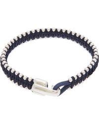 Miansai - Sterling Silver Turner Rope Bracelet - Lyst