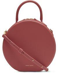 Mansur Gavriel - Circle Leather Cross-body Bag - Lyst