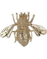 Kojis | Gold Bee Brooch | Lyst