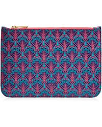 Liberty Large Pouch In Iphis Canvas
