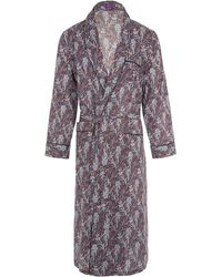 Liberty - Elegance Long Tana Lawn Cotton Robe - Lyst
