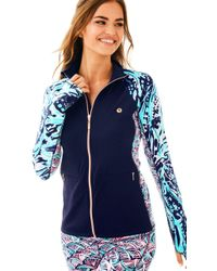 Lilly Pulitzer - Luxletic Kapri Pieced Jacket - Lyst