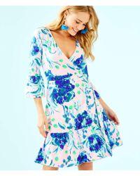Lilly Pulitzer - Misha Wrap Dress - Lyst