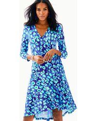 Lilly Pulitzer - Rozaline Wrap Dress - Lyst