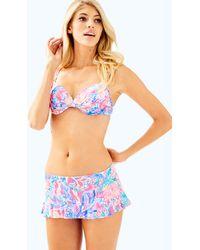 Lilly Pulitzer - Cruise Skirted Bikini Bottom - Lyst