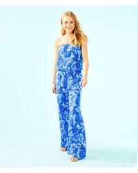 Lilly Pulitzer - Pim Strapless Jumpsuit - Lyst