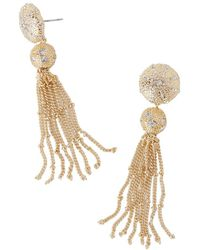 Lilly Pulitzer - Lilly Pulitzer Sand Dune Tassel Earrings - Lyst