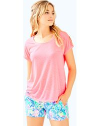 Lilly Pulitzer - Luxletic Bryana Tee - Lyst