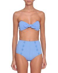Lisa Marie Fernandez - Poppy Cornflower Bikini - Lyst