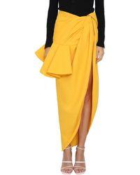 Jacquemus - Sol Viscose Blend Skirt - Lyst