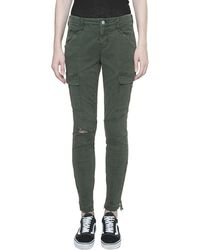 J Brand - Cargo Denim Cotton Jeans - Lyst