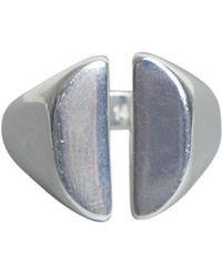 Maison Margiela - Chevalier Silver Ring - Lyst
