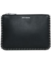 Paco Rabanne - Leather Clutch - Lyst