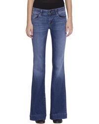 J Brand - Love Story Cotton Denim Jeans - Lyst