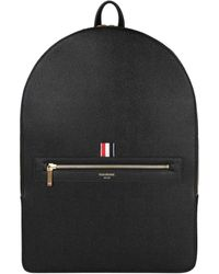 Thom Browne | Pebbled Grain Leather Backpack | Lyst