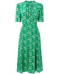 L.K.Bennett - Montana Green Dress - Lyst