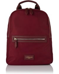 L.K.Bennett - Becky Oxblood Backpack - Lyst