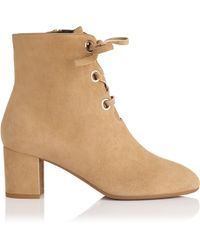 L.K.Bennett - Mollie Camel Suede Ankle Boots - Lyst