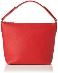 L.K.Bennett - Millie Red Leather Shoulder Bag - Lyst
