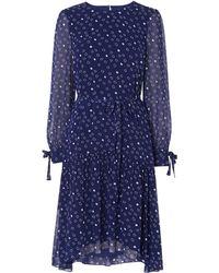 L.K.Bennett - Perl Print Dress - Lyst