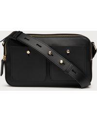 3b4f6c7b5430 Lyst - MICHAEL Michael Kors Matilda Large Leather Shoulder Bag in Black