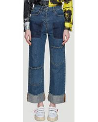 JW Anderson - Pocket-detail Jeans In Blue - Lyst