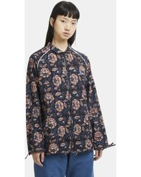 STORY mfg. - Floral Cotton Jacket In Multi - Lyst