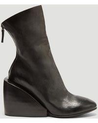 Marsèll - Massiccia Wedge Boots In Black - Lyst