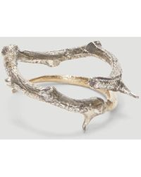 Pearls Before Swine - Thorn Ring In Silver - Lyst