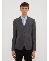 Thom Browne - Centre Back Stripe Sport Jacket In Grey - Lyst