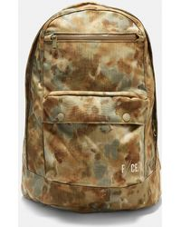 F/CE - Canvas Camouflage Backpack In Khaki - Lyst