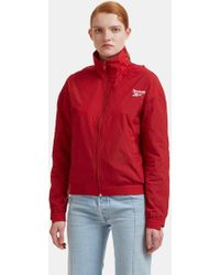 Vetements - X Reebok Reworked Tracksuit Jacket In Red - Lyst